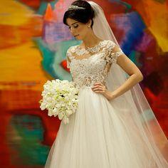 A222 vestido de novias boda short sleeve lace wedding dresses custom made a-line cheap bridal gowns 2016 hot sale