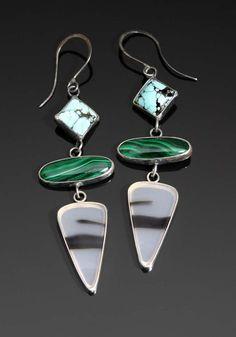 Meridian Earrings by RenateSurh on Etsy, $215.00