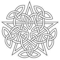 Knotwork Pentacle_image