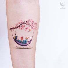 In my work, I love to tell the fairytale stories which happen in our dreams, intertwined with nature and animals. The stories that depict the times when we were children giving people positive energy. Trendy Tattoos, Cute Tattoos, Hand Tattoos, Small Tattoos, Tattoos For Guys, Tattoos For Women, Sleeve Tattoos, Tattoo Design Drawings, Tattoo Designs