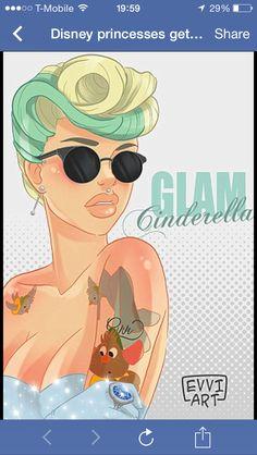 Glam Cinderella