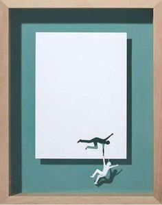 Printer Paper Scultpures - Peter Callesen's Scherenschnitte