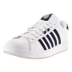 K-Swiss Men's Hoke CMF Ice and Navy Casual Shoes