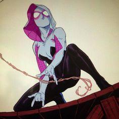 Spider-Gwen by Mark Brooks