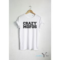 Crazy Mofos Shirt Niall Horan T-Shirt Fashion Hipster Unisex Tshirt... ($16) ❤ liked on Polyvore featuring tops, t-shirts, 1d, shirts, silver, women's clothing, unisex tops, white shirt, unisex t shirts and hipster t shirts