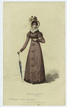 1822 Walking Dress