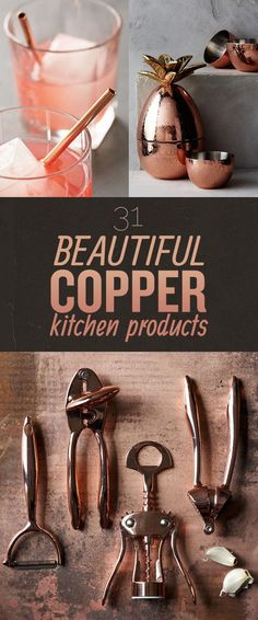 31 Products That Prove Copper Is The Definitive Kitchen Color