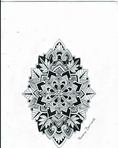 #Mandala tattoo http://tattoo-ideas.us