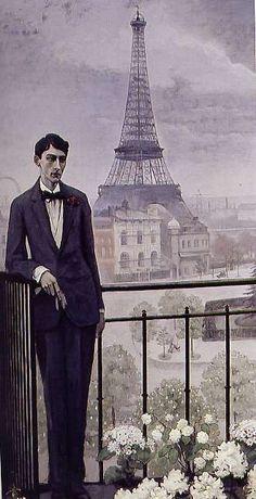 Portrait of Jean Cocteau, 1912    American painter Romaine Brooks (1874-1970)