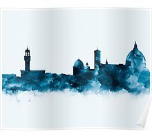 Florence Skyline   #florence #italy #europe #skyline #cityscape #landscape #poster #home #office #wall #decor #art #print #gift #ideas #shopping #watercolor #abstract #minimalist #urban #architecture