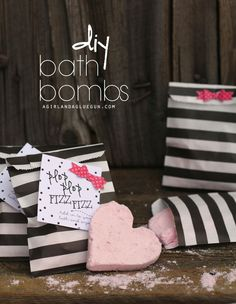 bath bombs just like  lush that you can make at home--easy diy makes the perfect gift