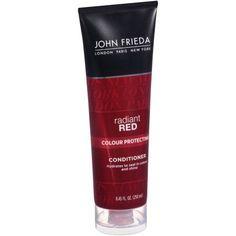 John Frieda Radiant Red Conditioner Colour Protecting, 8.45 FL OZ, Multicolor