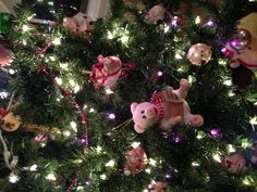 Trying this ONE more time Pinterest! My Piggie Christmas tree!