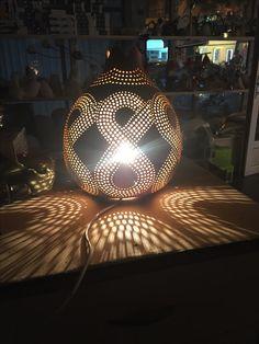 Interior Styling, Interior Decorating, Gourd Lamp, Interiores Design, Gourds, Creative Design, Diys, Sweet Home, Shabby Chic