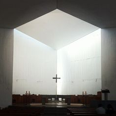 Chapel #architecture #concrete (Taken with... | ArchDaily