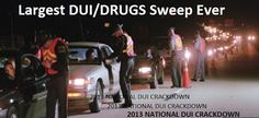 "Warning! ""The Large Sweep"" for Labor Day Weekend - 2013 NATIONAL DUI CRACKDOWN - ""Driver Sober or Get Pulled Over""  http://lawofficesofjonathanfranklin.blogspot.com/2013/08/the-large-sweep-for-labor-day-weekend_29.html"