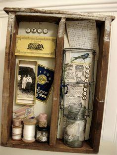 Vintage Trifles: New Trifles - memory boxes