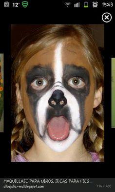 make up perro