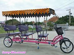Rikshaw for 6 person Quadricycle Handicap Accessible Home, 4x4 Parts, Bike Cart, Velo Cargo, Pvc Projects, Bike Trailer, Power Wheels, Pedal Cars, Bicycle Design