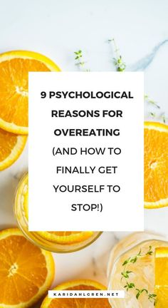 How to stop overeating, psychological causes of overeating, weight loss psychology Dieting doesn't work because it fails to address the psychological reasons for overeating. See the top 9 reasons for compulsive eating and how to stop! Quick Weight Loss Tips, Losing Weight Tips, Fast Weight Loss, Weight Gain, How To Lose Weight Fast, Reduce Weight, Extreme Weight Loss, Body Weight, Nutrition Education