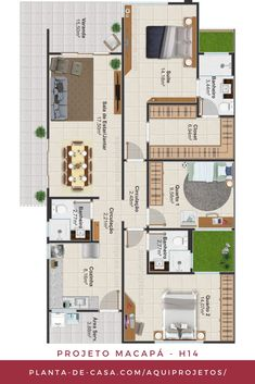 House Construction Plan, Sims House Design, Small House Plans, My Dream Home, 3 D, Sweet Home, New Homes, Floor Plans, Layout