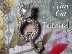 Beading pattern 'Kitty Cat'  DIY seedbead by TrinketsBeadwork, $3.50