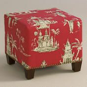 Pagoda Road McKenzie Ottoman | Home Goods for Sale - On-Sale Home Decor | World Market