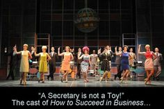 How to Succeed in Business Without Really Trying at The Arts Center of Coastal Carolina, Source by laughingpattye Broadway Costumes, Cool Costumes, Disney High Schools, Fiddler On The Roof, Broadway Theatre, Scenic Design, High School Musical, Lose Belly Fat, Musicals