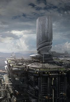 Inspiration for the Space Port where one of the fieriest battles on Rift occurred.