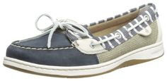 nice Sperry Top-Sider Women's Angelfish Bretton Boat Shoe,Navy,7.5 M US