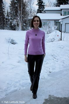 #over40 winter office look | High Latitude Style | http://www.highlatitudestyle.com