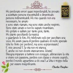 la vita è troppo bella per essere insignificante. Charlie Chaplin