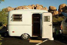 the scamp! super fun blog about their trailer adventures.