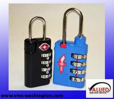 VMS-Washington - TSA Recognized Baggage Locks