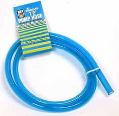 Dial Mfg. 4372 Cooler Pump Hose by Dial. $2.05. 1/2'' x 5' clear vinyl.. Save 49% Off!