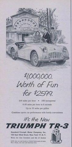 1965 Triumph TR4  Auto Refrigerator Tool Box Magnet Man Cave Shop item
