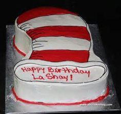 Dr Seuss cake idea