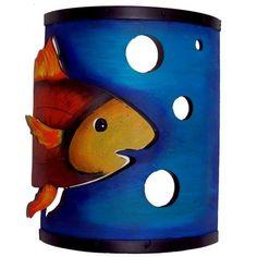 Fish sconce