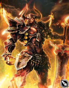 Ares from Mobius Final Fantasy