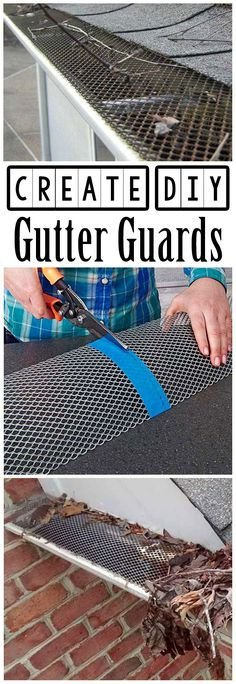 [orginial_title] – Never clean your gutters again! These DIY gutter guards will help you accomplish… Never clean your gutters again! These DIY gutter guards will help you accomplish just that! House Gutters, Diy Gutters, Copper Gutters, Gutter Screens, Gutter Drainage, Home Fix, Home Upgrades, Home Repairs, Trendy Home