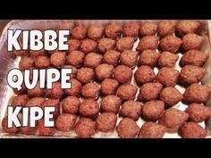 quipes, kipes, kibbe, kipe - YouTube Shawarma, Middle East, Dog Food Recipes, Food And Drink, Wraps, China, Youtube, Vegetarian, Pickling
