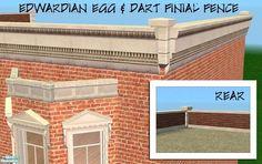 BeOSBoxBoy's Egg & Dart Roof-wall