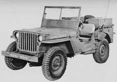 USMC Radio Jeep, 1942