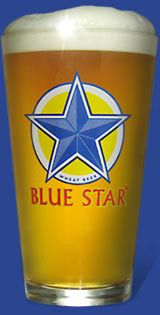 Blue Star Wheat Beer by North Coast