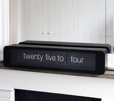 This #calendar #clock has a bit of a retro feel about it and is all you need to add a bit of definition to any lifeless room. - http://thegadgetflow.com/portfolio/karlsson-time-talk-flip-clock-145/