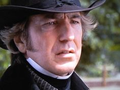 "1995 - Alan Rickman as Colonel Christopher Brandon in ""Sense and Sensibility."""
