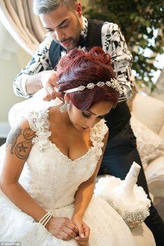 Nicole Wedding day #SnookisWedding