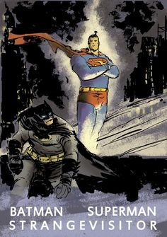 "With no problem I will portray the 'StrangeVistor"", when is the Casting? /World's Finest by Dan McDaid"