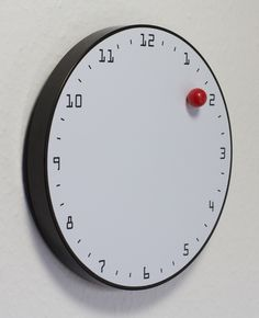 Clock, Wall, Magnetic Ball