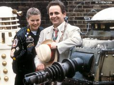 The Seventh Doctor and Ace - Remembrance Of The Daleks
